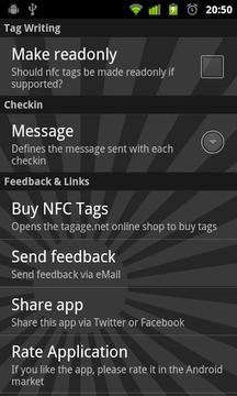 NFC Checkin