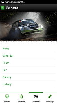 ŠKODA Motorsport App