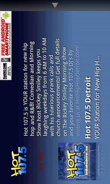 Hot 107.5 Detroit音乐