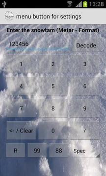 Snowtam Decoder