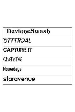 ReChat Font Pack 5