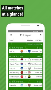 Football Live Scores GoalAlert