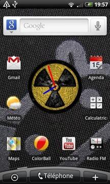 Duke Clock Widget