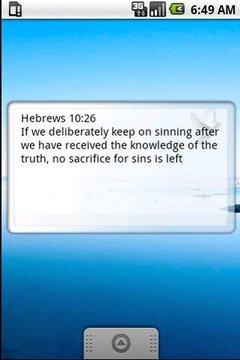 Bible quote widget