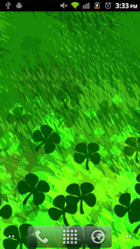 St Patrick's Day Shamrocks LWP