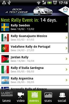 The Official WRC App 2011