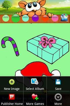 Coloring Santa Christmas