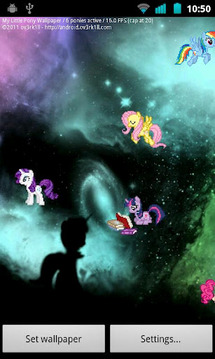 My little Pony Live Wallpaper