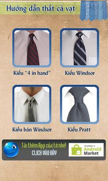 Hướng dẫn thắt cà vạt