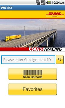 DHL ACTIVETRACING