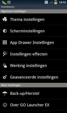 Holand package for GO Launcher EX