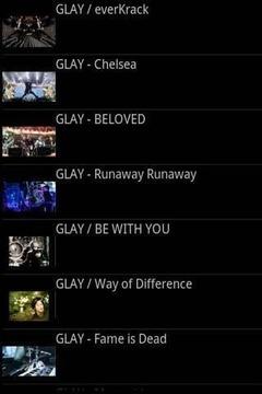 GLAY(グレイ)无料动画リンク集