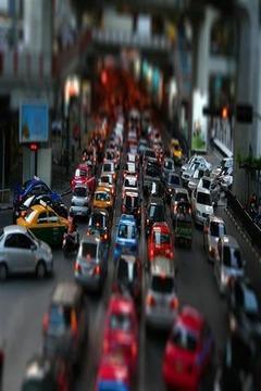 Traffic Pulse Live Wallpaper