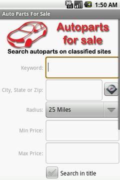 Auto Parts For Sale
