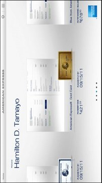 Amex for Tablet