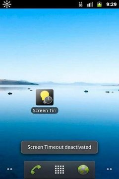 Screen Timeout Toggle