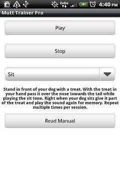Mutt Trainer Pro Dog Whistle