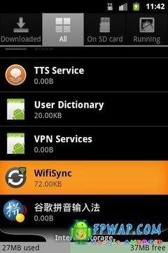 无线同步:WifiSync