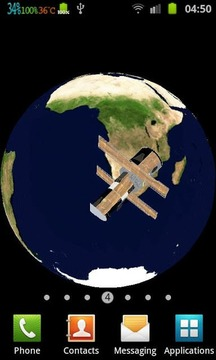 Hubble Around Earth 3D Live WP