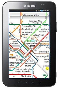 柏林地铁电车地图