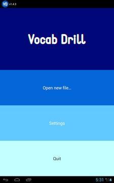 Vocab Drill