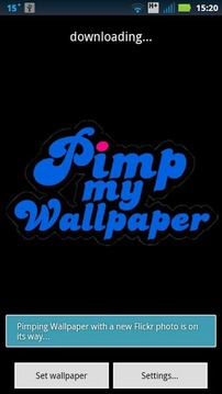 Pimp My Wallpaper with Flickr