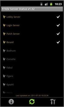 FFXIV Server Status