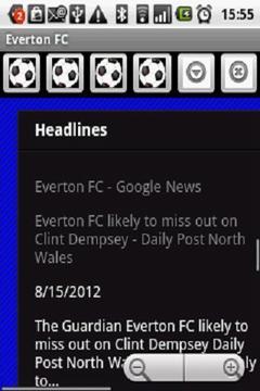 Everton FC News 2012