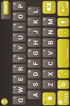 金矿键盘皮肤
