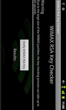 WiMAX Key Checker