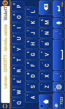 拉脱维亚SlideIT键盘