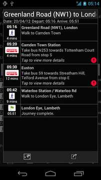 伦敦实时交通London Transport Live