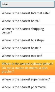 Phrasebook French Lite