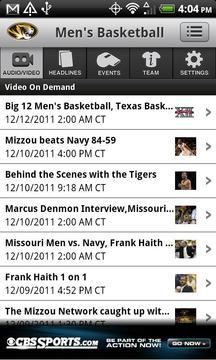 Missouri Tigers Sports