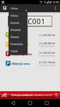 mParking Lietuva