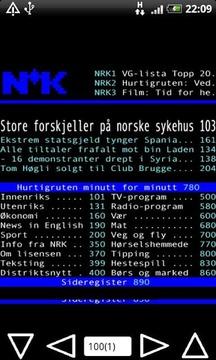 NRK Tekst TV