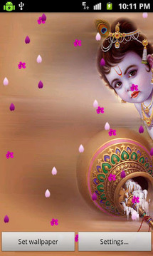 Krishna Ji Live Wallpaper