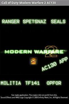 COD Modern Warfare 2 AC130