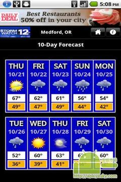 (美国国家气象部门发布的)暴风雨(或暴风雪等的)预报12