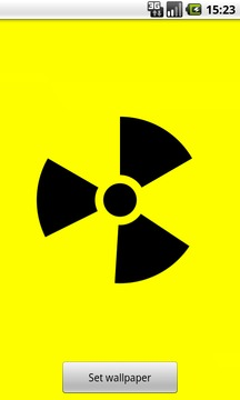 Nuclear Sign Wallpaper