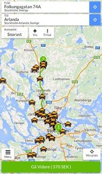 Taxijakt - Taxi till fastpris