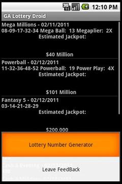 Pennsylvania Lottery Lite