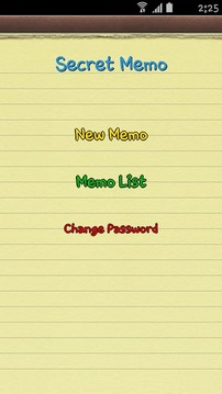Secret Memo(Free note)