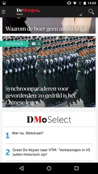DeMorgen.be Mobile