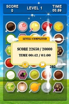 Cup Match 3 Puzzle Game