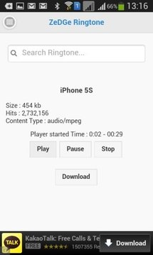 ZeDGE Mp3 Ringtone