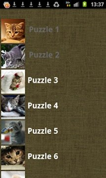 Adorable Kitten Puzzles FREE!