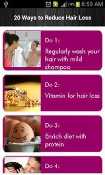 20 Ways to Reduce Hair Loss