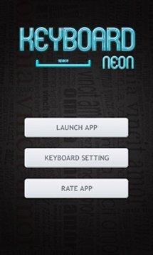 Ultra Neon Keyboard