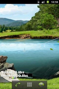 Gone Fishing Free Live Wallpaper